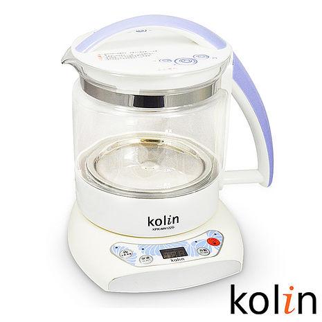 Kolin歌林-1.2L微電腦養生壺(KPK-MN122G)-特賣