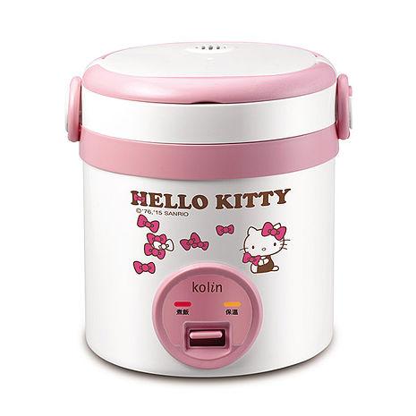 Kolin歌林-Hello Kitty隨行電子鍋(一人份)(KNJ-MNR1230)-特賣