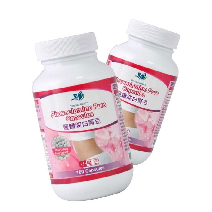 【約諾】麗孅姿白腎豆膠囊(100顆/瓶)