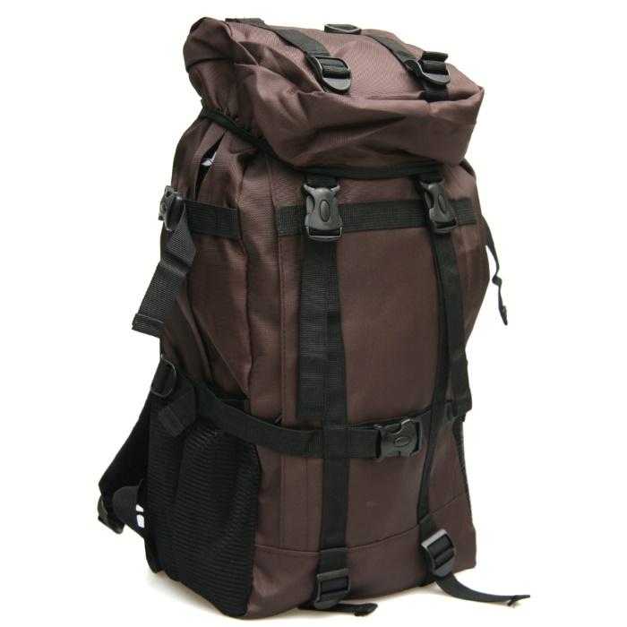 MAKSIM隨性休閒尼龍後背包/筆記型電腦包(咖)