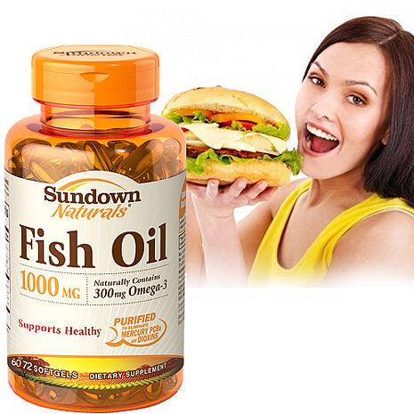 Sundown日落恩賜 高單位精純魚油(72粒/瓶)-戶外.婦幼.食品保健-myfone購物