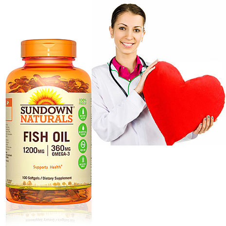 Sundown日落恩賜 天然精萃深海魚油1200mg(100粒/瓶)