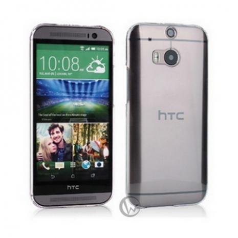 透明殼專家 HTC One M8 0.5mm 超薄 抗刮 高透光保護殼