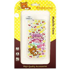 Rilakkuma 拉拉熊 iphone5 iphone5s SE 繽紛系列 彩繪透明保護