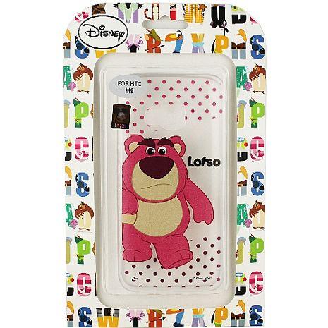 【Disney】HTC ONE M9 彩繪透明保護軟套-熊抱哥