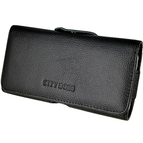 真皮系列 HTC One E8 腰夾式/穿帶式 橫式手機皮套