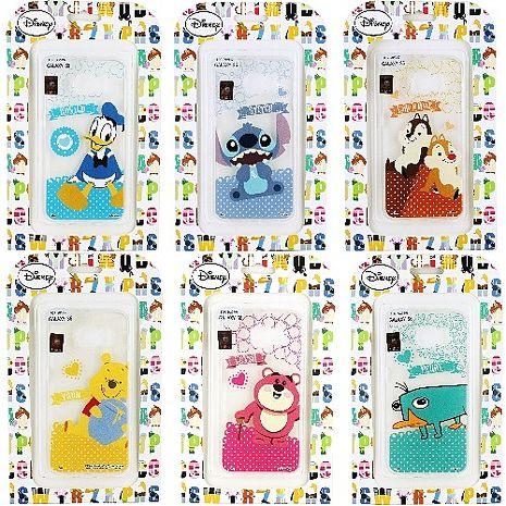 【Disney】Samsung Galaxy S6 Q版系列 彩繪透明保護軟套維尼