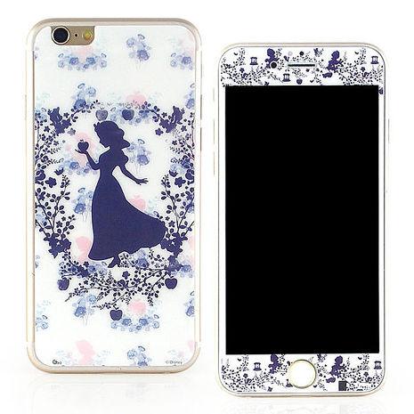 【Disney 】iPhone 6 /6s 強化玻璃彩繪保護貼-白雪公主