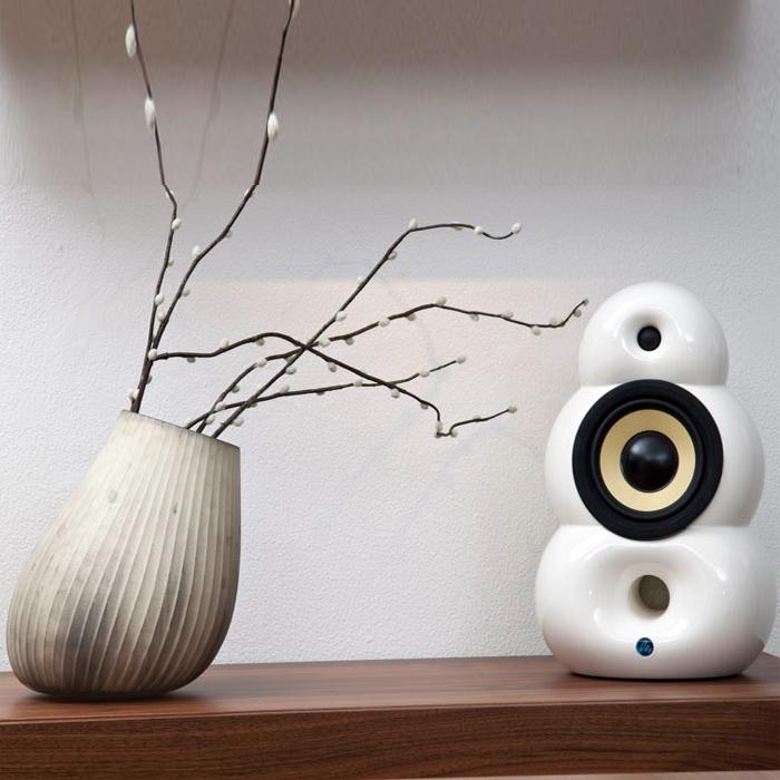 丹麥 Scandyna Podspeakers系列 SmallPod 造型喇叭 小而美的設計 尺寸精巧卻能有生動的音效表現