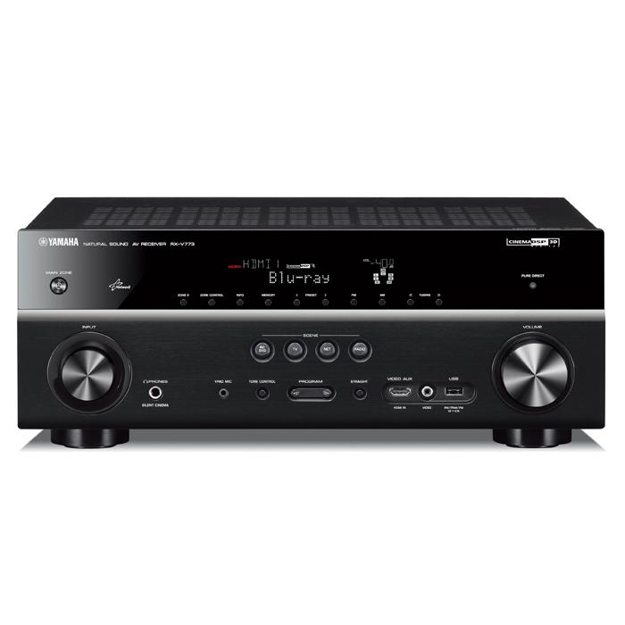 YAMAHA RX-V773 7.1聲道家庭劇院擴大機 USB插槽可連結iPod/iPhone/iPad