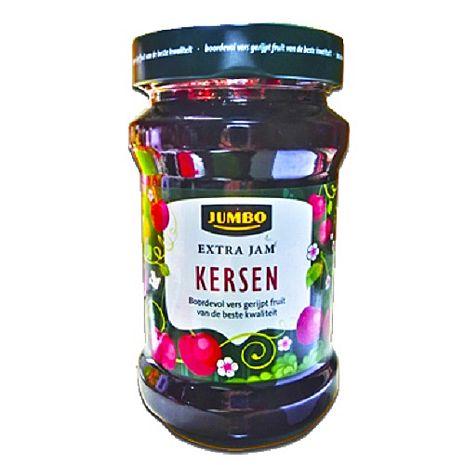 歐洲原裝進口JUMBO果醬-櫻桃(450g/瓶)