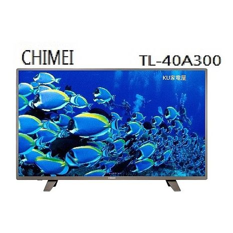 CHIMEI奇美  39吋液晶顯示器含視訊盒  【TL-40A300】