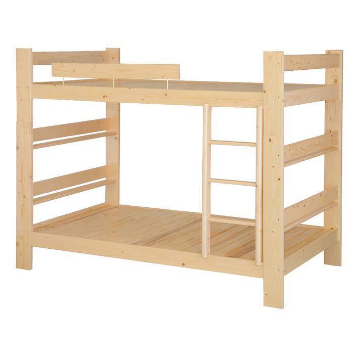 松木3尺全實木雙層床