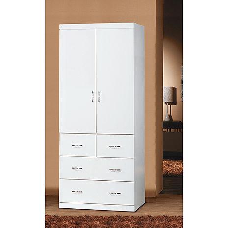 優質純白2.7*7尺衣櫥-居家日用.傢俱寢具-myfone購物