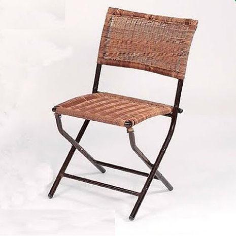 鋁合金竹節折合椅