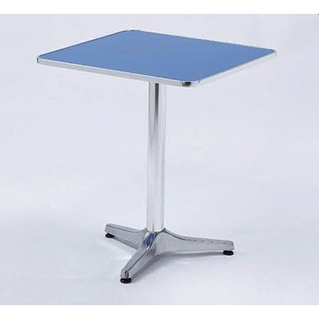 鋁合金2.3尺防火板方桌