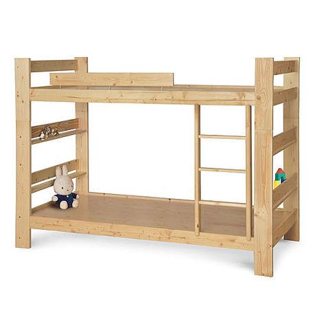 J松木3.5尺雙層床(床板型)