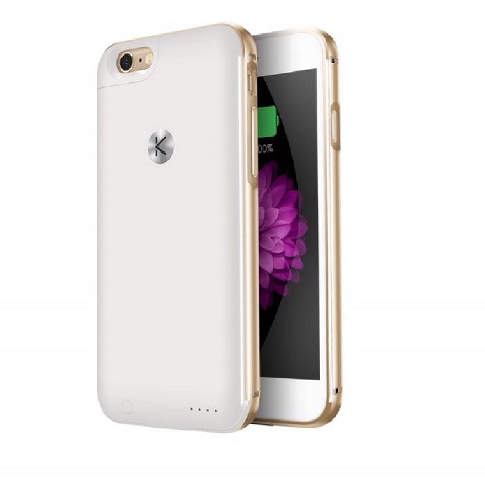 酷能量(KUNER) 經典iPhone6(S) 充電背蓋-鋁框