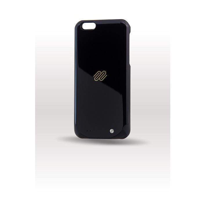 好充 iPhone 6 高質感多彩背蓋式行動電源玫瑰石英