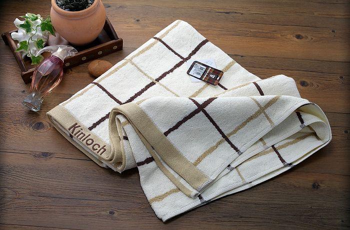 金安德森格子浴巾