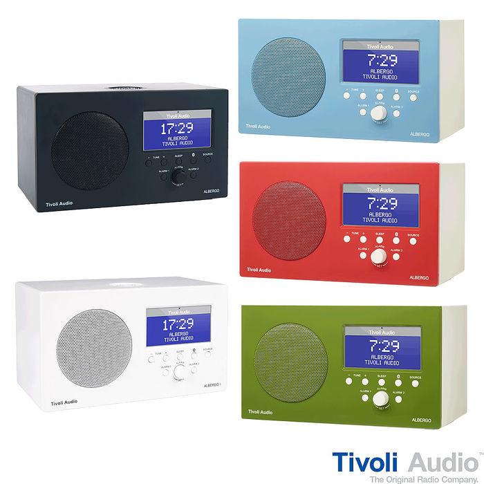 Tivoli ALBERGO藍牙鬧鐘收音機喇叭(共五色)~經典數位黑色
