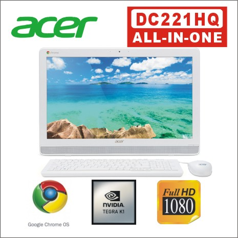 Acer 宏碁 DC221HQ 22吋 FHD 2.3Ghz 10點觸控四核心液晶電腦-數位筆電.列印.DIY-myfone購物