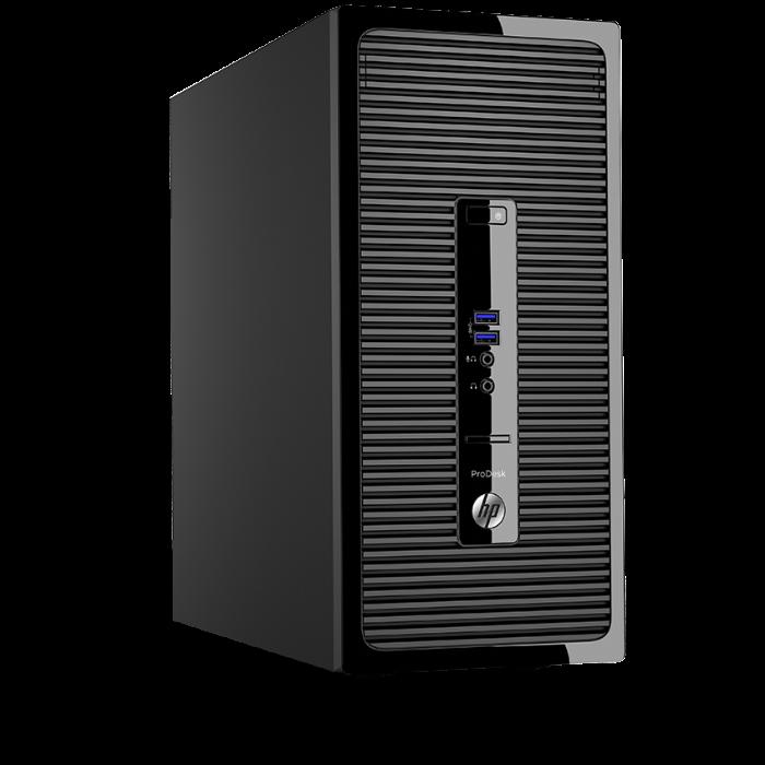 HP 電腦 400G3 MT G4400/4G/1T Win10專業版可降階Win7專業版