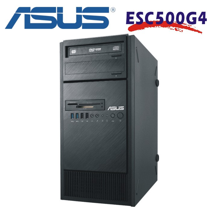 ASUS 七代工作站 ESC500-G4 i7-7700/DDR4-8G/1T HDD/Windows 10 專業版 64位元