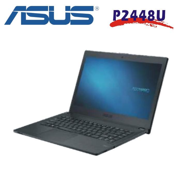 ASUS 七代商務筆電 P2448U i7-7500U/DDR4-8G/256G SSD/Windows 10 專業版 64位元