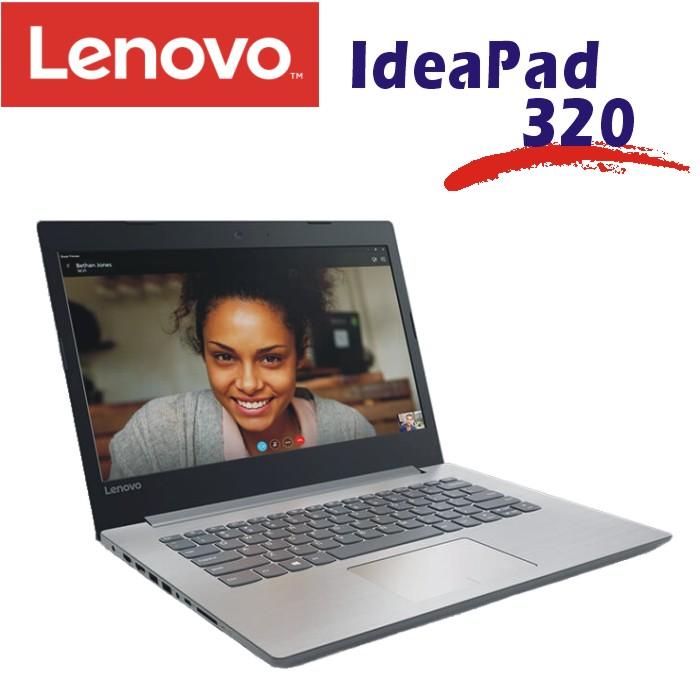 Lenovo IdeaPad 320 14吋2G獨顯多媒體筆記型電腦 白金灰色 320-14IKB-80XK001RTW