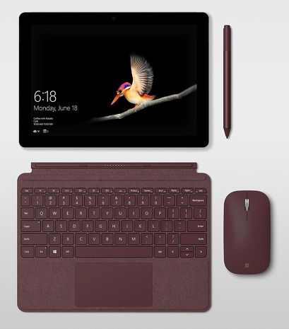 Microsoft Surface Go P4415Y/8G/128G/W10P含Alcantara鍵盤三色任選商務機種