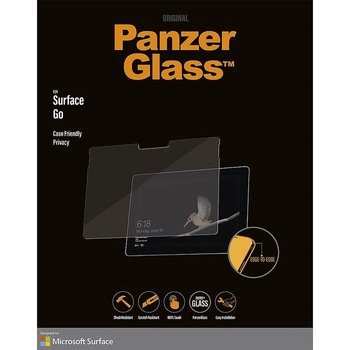 北歐品牌 Panzer Glass Surface Go 專用 防窺玻璃保護貼