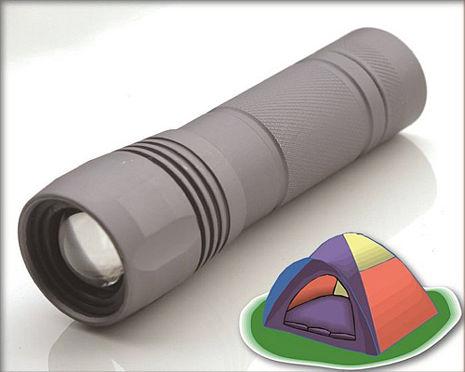 沖繩星野 R66 標準變光手電筒 快速伸縮燈頭 緊急照明 防水保護 CREE LED 台灣製造 原廠公司貨