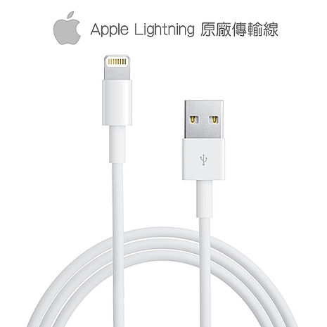《Apple》Lightning 8pin 原廠 傳輸充電線 (裸裝)