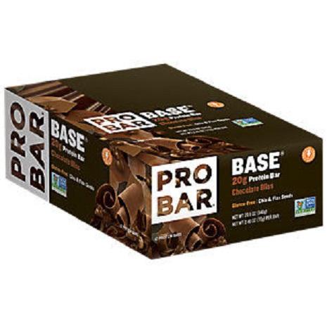 BASE 20g 高蛋白營養棒 - 極樂巧克力 12入