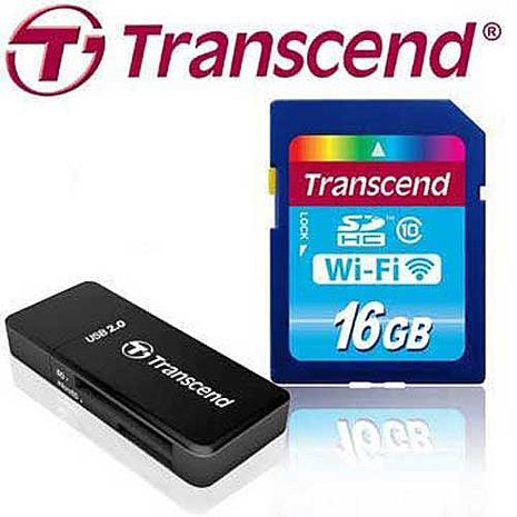 Transcend 創見 16GB Wi-Fi WIFI SDHC SD C10 無線分享 記憶卡
