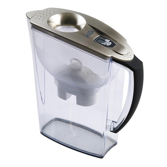 【義大利LAICA】濾水壺2.95公升羅馬系列-銀JA18H