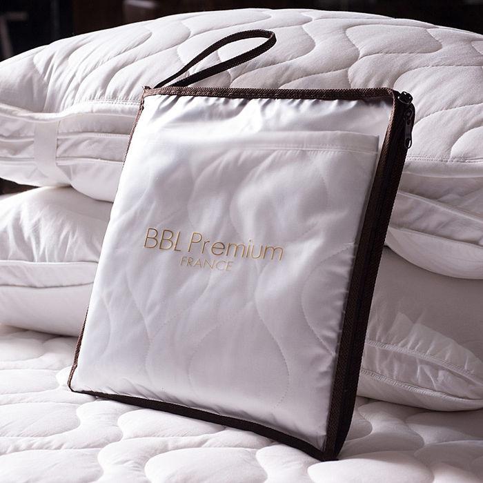 【BBL Premium】枕頭100%棉.平面式保潔墊