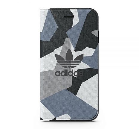 adidas Originals 4.7吋 iPhone 7/i7 NMD Graphic 翻蓋式手機保護殼 可收納卡片-手機平板配件-myfone購物