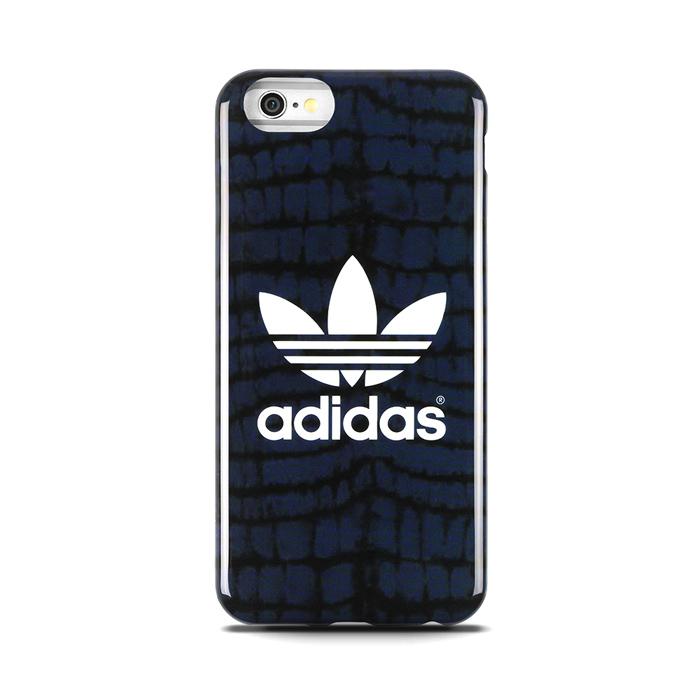 adidas Originals 4.7吋 iPhone 6/6S 藍黑 軟質保護套