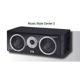 HECO 德國原裝進口喇叭 2音路低音反射式中置喇叭 music style Center 2