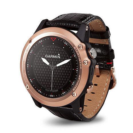 GARMIN fenix 3 全能戶外運動GPS腕錶 玫瑰金