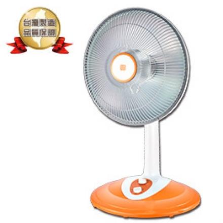 【風騰】40CM 直立定時鹵素電暖器 FT-550T (400/800W) (橘色)