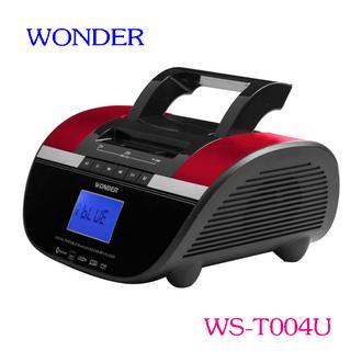 WONDER 旺德 藍芽隨身音響 WS-T004U(藍色、紅色)紅