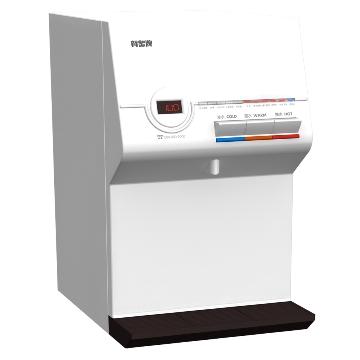 賀眾牌 微電腦冰溫熱桌上型飲水機 無過濾器 UW-672AW-1