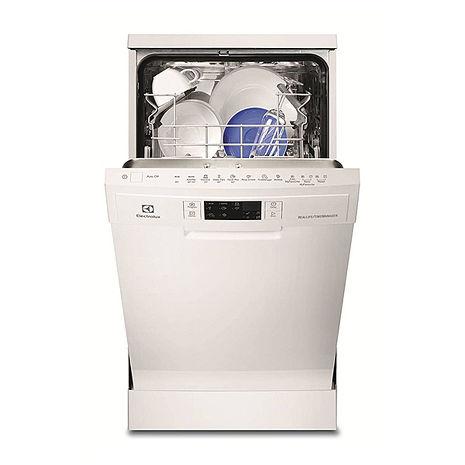 Electrolux 瑞典 伊萊克斯 ESF4660ROX 獨立式45CM洗碗機白 220V ‵106/6/30前贈伊萊克斯E9KLFP01平底鍋