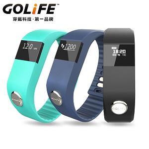 GOLiFE Care One 智慧健康手環 藍 / 黑 / 綠色藍