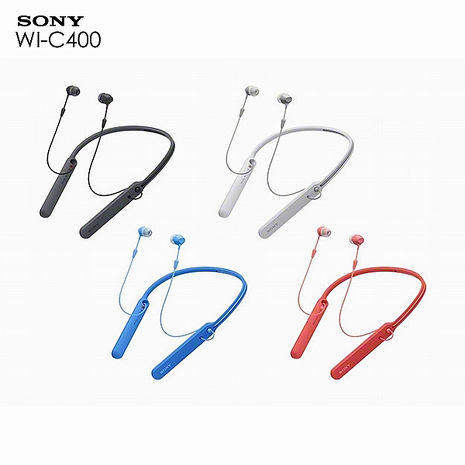 SONY WI-C400 無線藍牙頸掛式耳機 h.ear in 2 無線耳機紅色