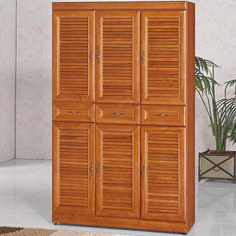 Homelike 樟木3.7x6尺鞋櫃