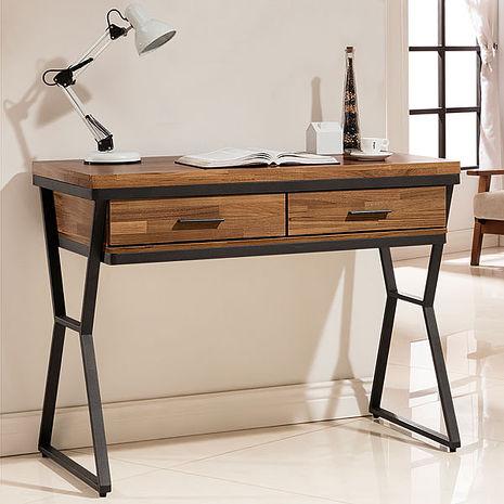Homelike 哈得工業風3.5尺書桌